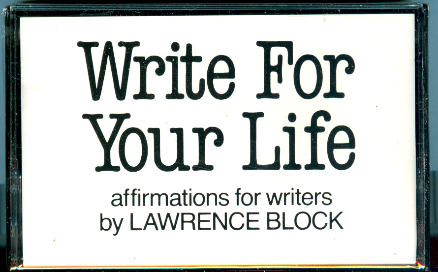 Affirming AFFIRMATIONS FOR WRITERS…
